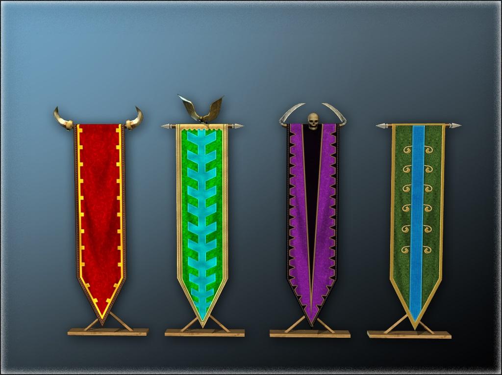 tall kingdom banner