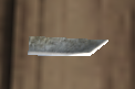 A Carving knife blade