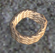 A Cordage rope