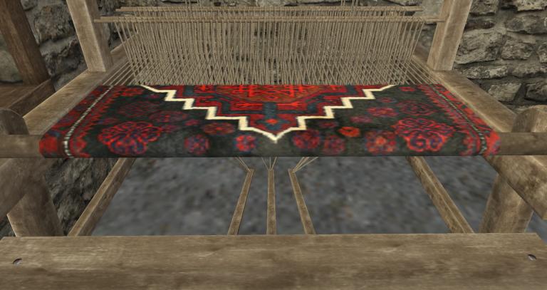 File:Floor loom rug png - Wurmpedia