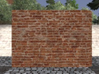 A Pottery brick wall