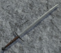 A Two handed sword