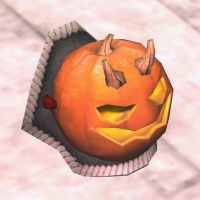 A Pumpkin shoulder pad