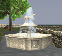 A Ornate fountain