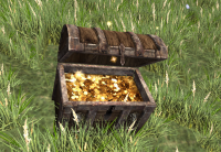 A Large treasure chest